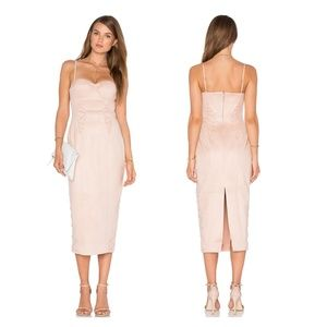 ⬇️$159 Misha Collection Blush Leia Bodycon Dress